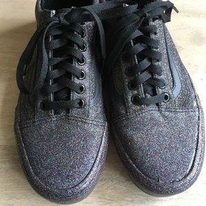 Vans Rainbow Glitter Old Skool size 8 NEVER WORN